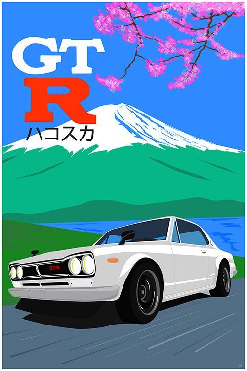 Hakosuka Dreams  JDM Legend  Nissan Skyline GTR by GarageFabro  Due to a special request I made this in white also and I really like the way it came out!