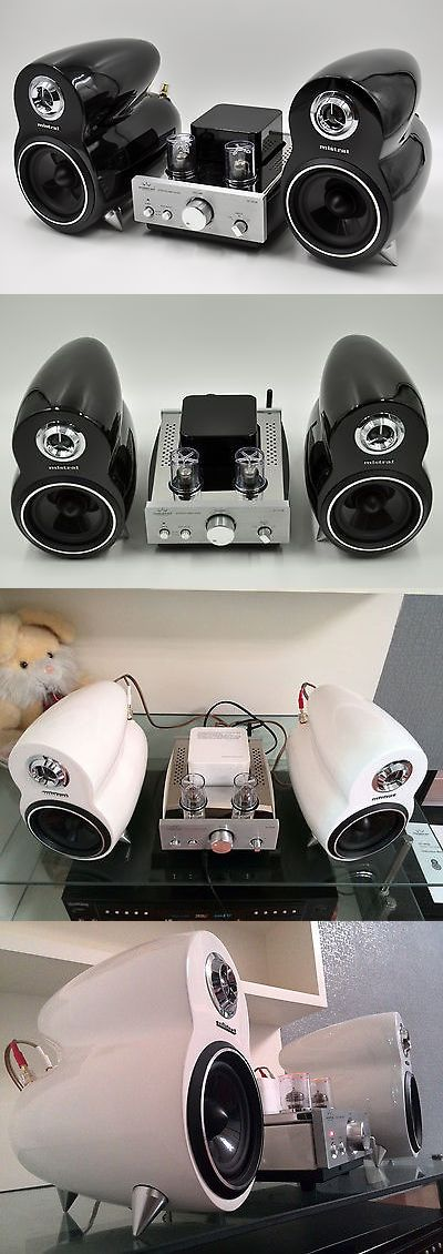 Stereo Component Combos: Mistral Dt-307B Bluetooth Amp And Dt-307S Speaker Stereo Hifi Music System Combo BUY IT NOW ONLY: $495.0