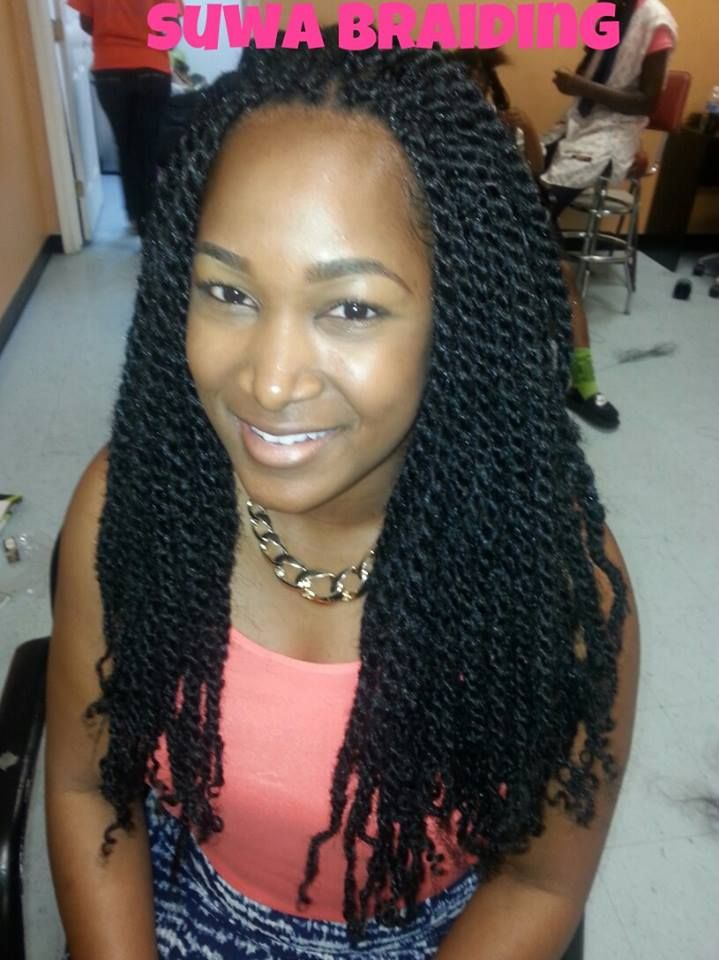 My Next Braid Style Will Be Puffy Twists Hair Pinterest Natural Twist And Afro