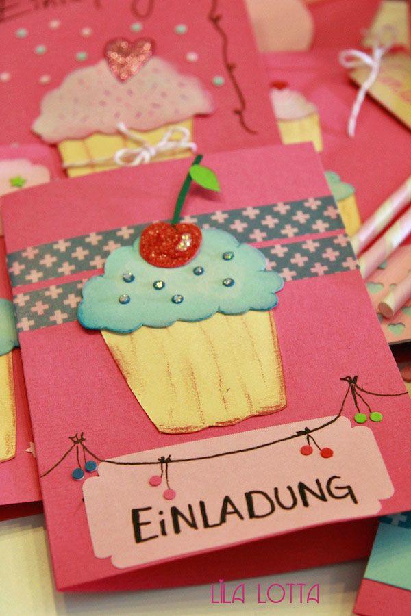 """Über 1.000 Ideen zu """"Cupcake Einladungen auf Pinterest ..."""