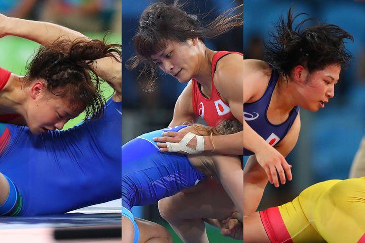 <五輪レスリング>日本女子 3階級で金メダル #リオ五輪