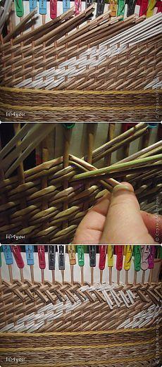 МК закрытия косого плетения | Страна Мастеров