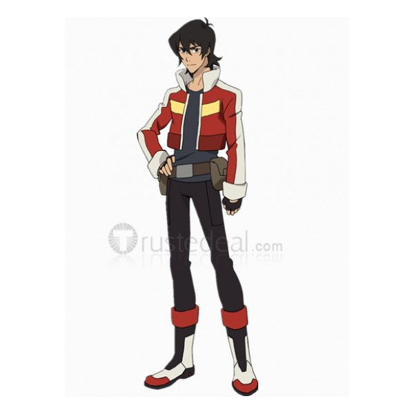 Voltron Legendary Defender Keith Red Jacket Cosplay Costume ❤ liked on Polyvore featuring costumes, comic costumes, comic halloween costume, cartoon costumes, cosplay halloween costumes and cartoon character costumes