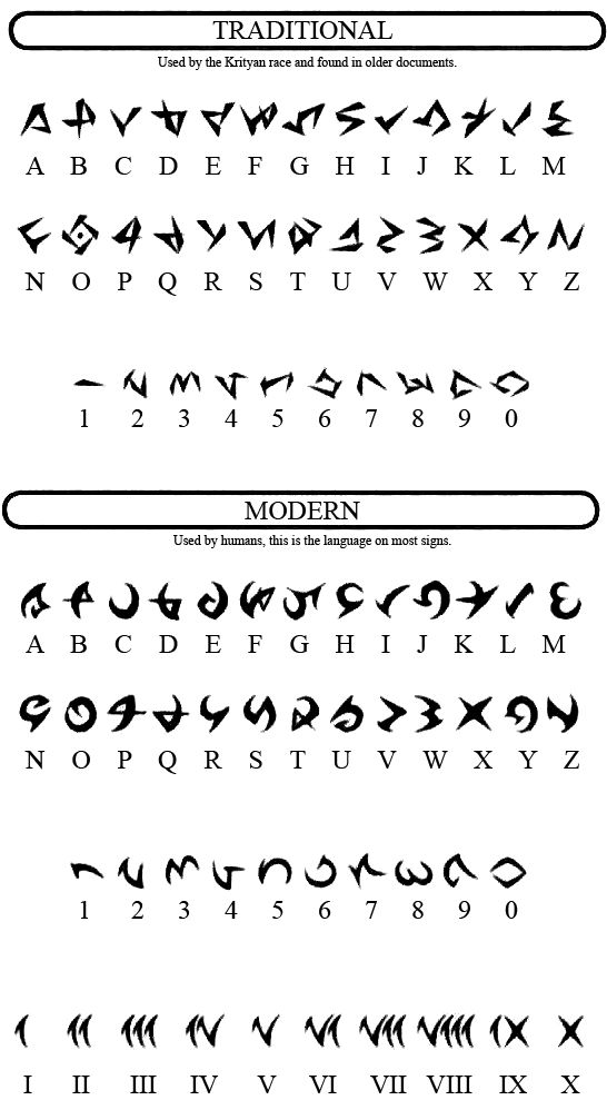 zaphias | Vesperia Alphabet. (Reply)