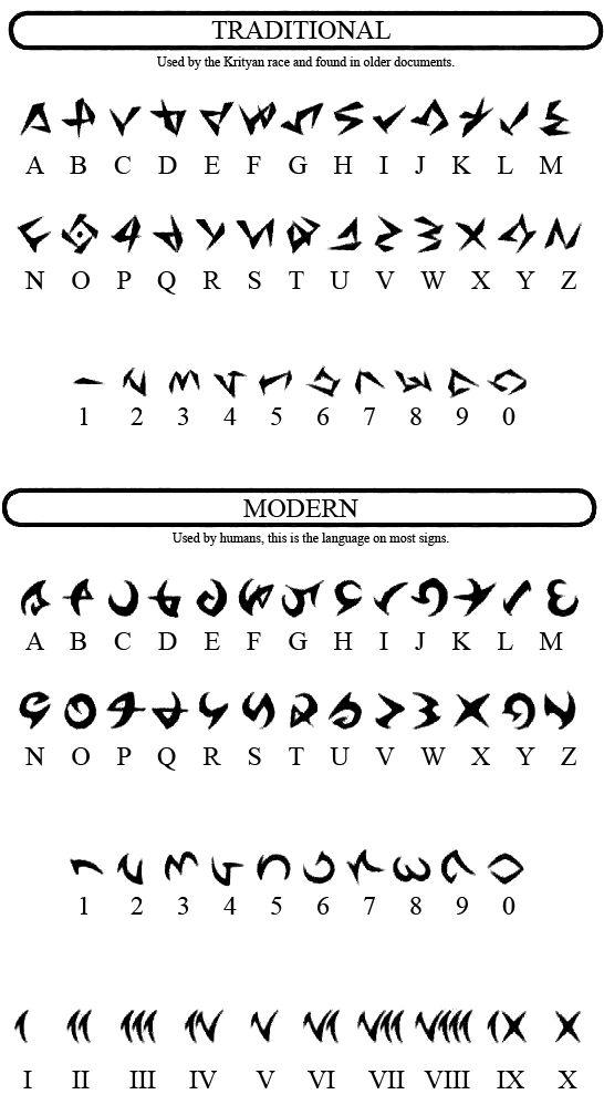 zaphias | Vesperia Alphabet. (Reply)