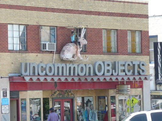 This store brings a whole new meaning to antiquing. Their collection of rare finds and trinkets makes you wonder, where do they find all of this stuff?
