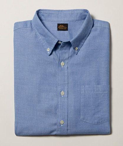 Signature Washed Oxford Cloth Shirt, Slim Fit: Shirts | Free Shipping at L.L.Bean