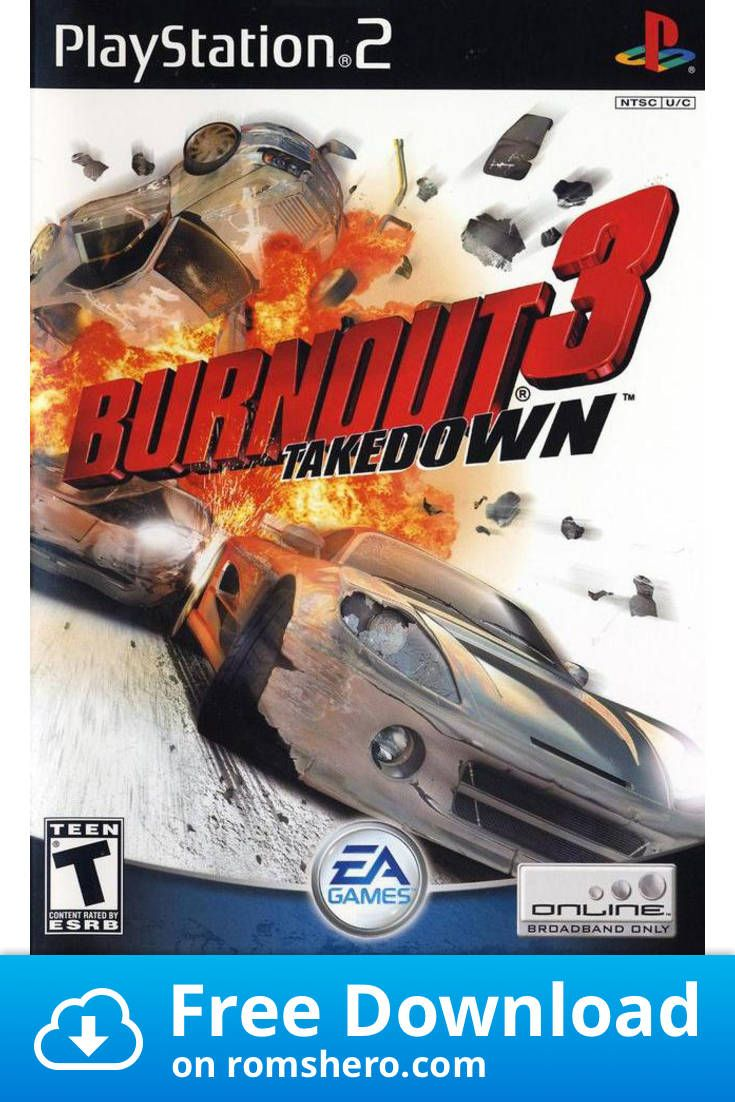 Download Burnout 3 Takedown Playstation 2 Ps2 Isos Rom Playstation Playstation 2 Download Games