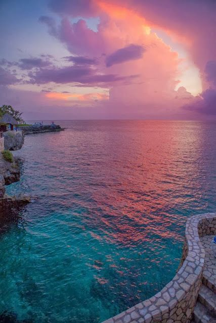 A scene from #Rockhouse Hotel in #Negril #Jamaica.