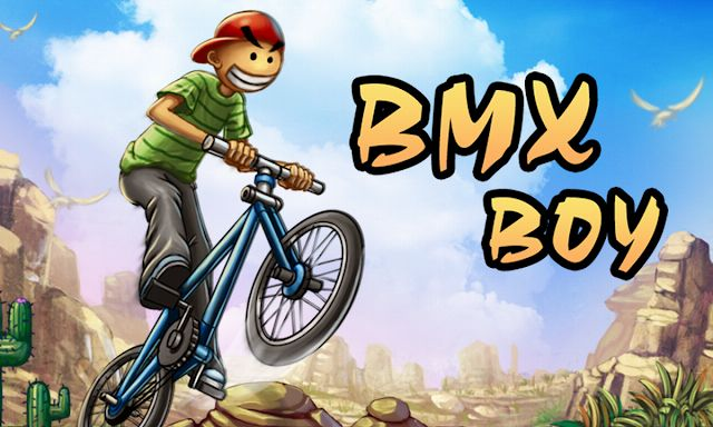 BMX Boy apk download is a BMX bike game in two dimensions in which you have to perform jumps and tricks to beat a series of levels.