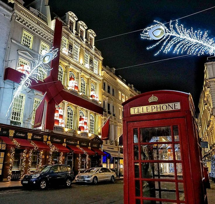 Christmas in London's Mayfair