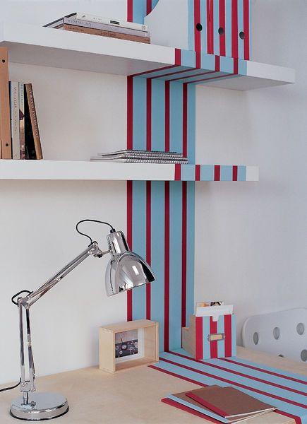 1000 ideas about vertical striped walls on pinterest bedroom wall colors vintage bathroom. Black Bedroom Furniture Sets. Home Design Ideas