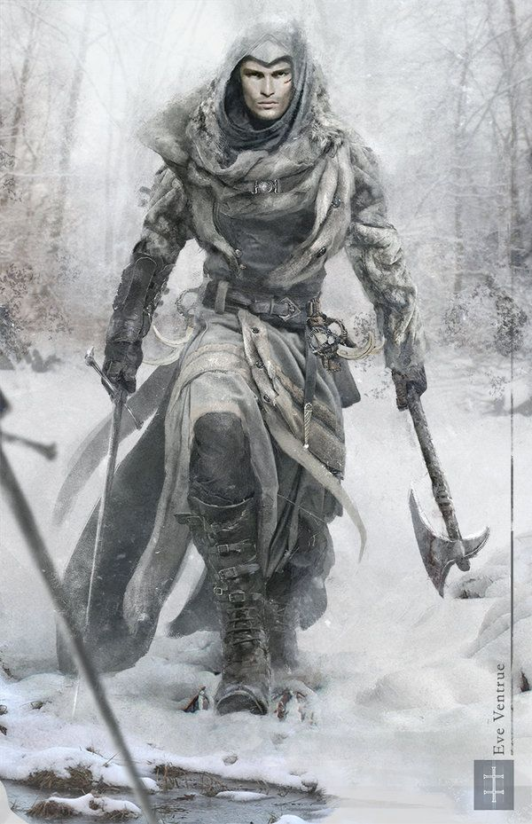 Assassins Creed - Snow Edition by EVentrue | NOT OUR ART - Please click artwork for source | WRITING INSPIRATION for Dungeons and Dragons DND Pathfinder PFRPG Warhammer 40k Star Wars Shadowrun Call of Cthulhu and other d20 roleplaying fantasy science fiction scifi horror location equipment monster character game design | Create your own RPG Books w/ www.rpgbard.com