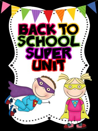 Ginger Snaps: Back to School SUPER Unit in the works!