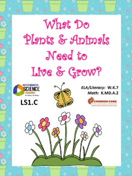 Use trade books to teach science*Bringing the Rain to Kapit Plain*Our Apple Tree*Why Do Elephants Need the Sun?*A Seed Needs SunOne of four units focusing on the interdependent relationships in Ecosystems:  Animals, Plants and Their EnvironmentUnit:  What do Plants and Animals Need to Live and Grow?NGSS K-LS1-1CCSS W.K.7 & K.MD.A.2Using listed trade books and online videos, students create graphs for 5 innovative activities.Compressed file included: easy to print PDF and editable PowerPoi...