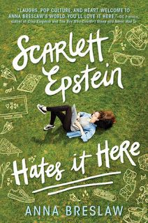 Welcome: Scarlett Epstein Hates it Here  #book review #short