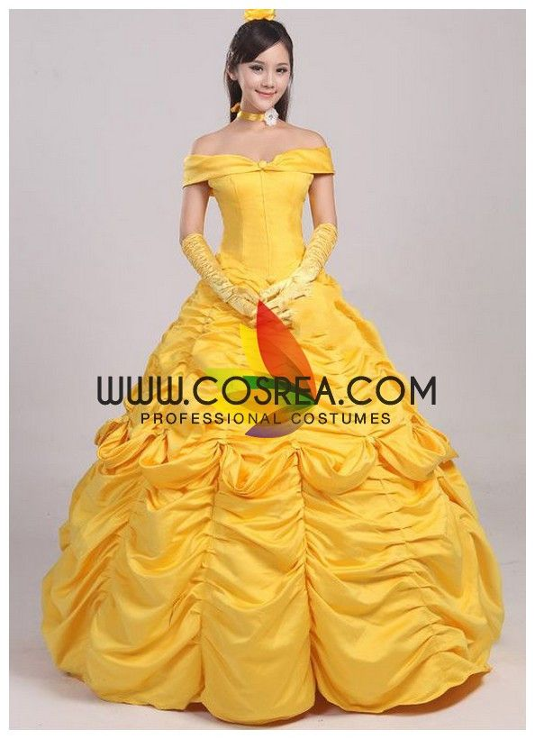 Beauty And Beast Belle Ruffle Large Cosplay Costume