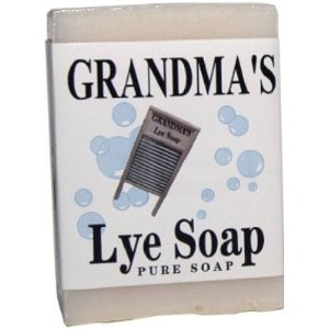 Made In The USA Grandma's Lye Soap Remwood Products Co. 6Oz Pure Mild Lye Soap 60018 Mild Enough for Everyday Face Use! great for hunters to hide your scent great on any itchy skin from rashes or poison ivy, etc... all types of skin can use it. lots of people swear by it & even use it as whole body wash shampoo & all! even in your laundry!