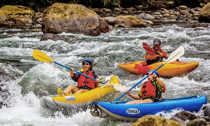 Costa Rica Rios - Costa Rica: 8-Day All-Inclusive Costa Rica Adventure Package for One, Two, or Four from Costa Rica Rios. Combine Multiple Nights.