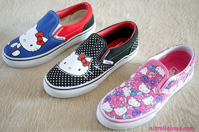 HELLO KITTY X VANS SUMMER 2012