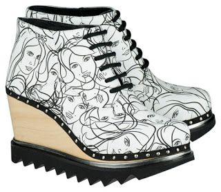 szjdesign: shoe surface design - Berkemann 1885 collection printed design
