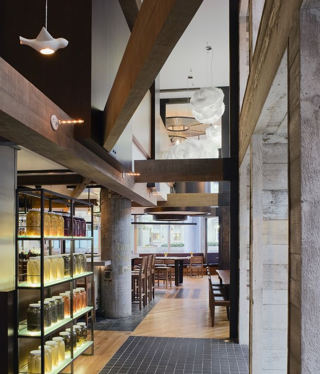 FOUNDING FARMERS In Washington DC The Districts Only LEED Gold Certified Restaurant And Bar Interior Design