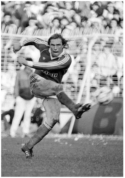 Michael Manniche - Benfica vs Porto - 5 Janeiro 1986