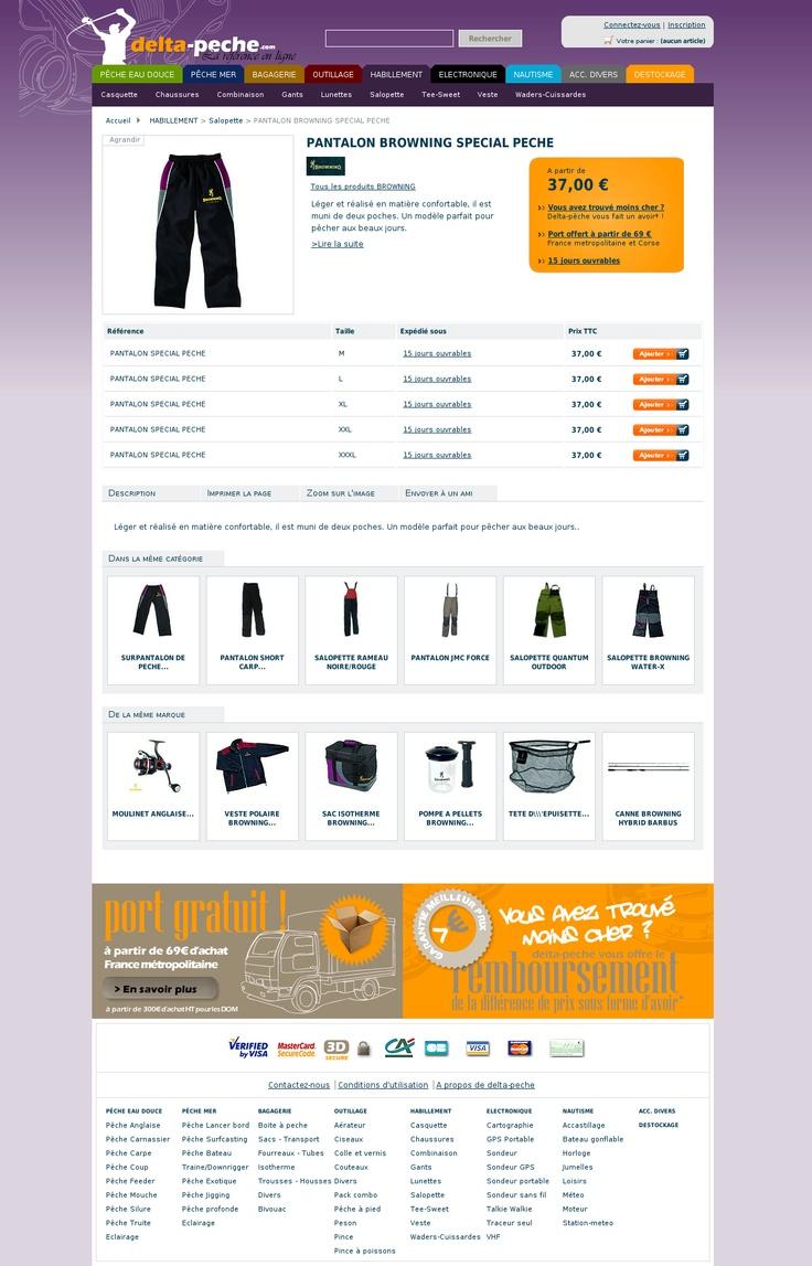delta p che vente materiel et article de peche en mer et. Black Bedroom Furniture Sets. Home Design Ideas
