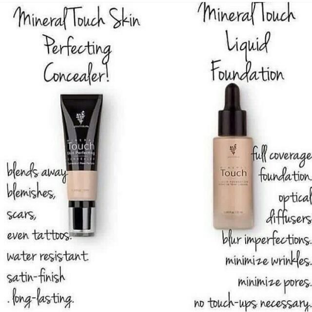 Mineral Touch Concealer and Mineral Touch Foundation! Coverage like no others ladies! https://www.youniqueproducts.com/SamanthaWrightBeauty/