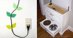15 einfache, aber brillante Möglichkeiten, um lästige Gegenstände in Ihrem Haus zu verbergen