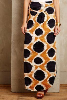 Maeve Melo Maxi Skirt #anthroregistry