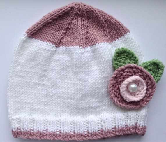 Hey, I found this really awesome Etsy listing at https://www.etsy.com/listing/199101447/toddler-hat-beanie-handknit-white-with