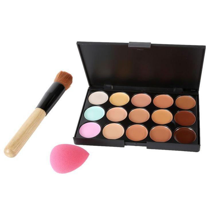 Maquiagem Professionale del Salone Concealer Palette Trucco Del Partito Contour Palette Crema Per Il Viso Delle Donne di Trucco Palette