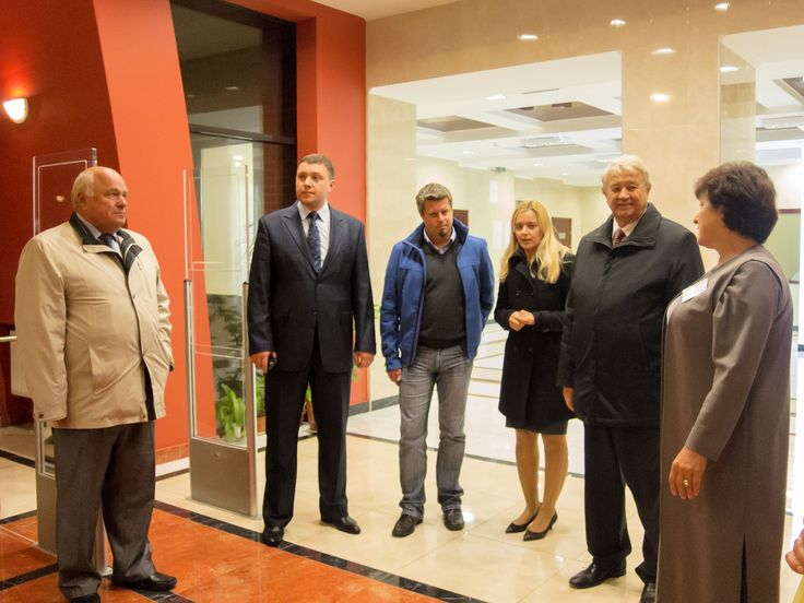 """Адміністрація НТУ """"ХПІ"""" зустрічає поважних гостей з Німеччини"""
