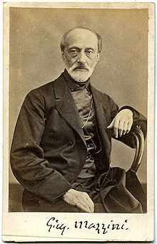 Giuseppe Mazzini (22 June 1805 – 10 March 1872), nicknamed The Beating Heart of Italy, was an Italian politician, journalist and activist for the unification of Italy. His efforts helped bring about the independent and unified Italy in place of the several separate states, many dominated by foreign powers that existed until the 19th century. He also helped define the modern European movement for popular democracy in a republican state.