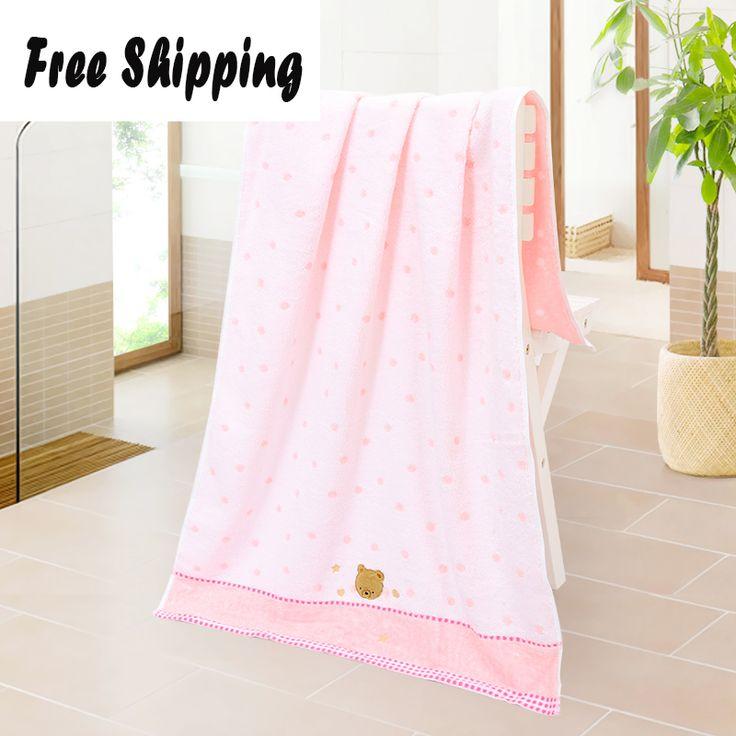 Towels Bathroom Kids Wrap Women High Size Plush Fabrics Toalla Microfibra Mutfaks Bath Towels Cotton For Adults DDC335