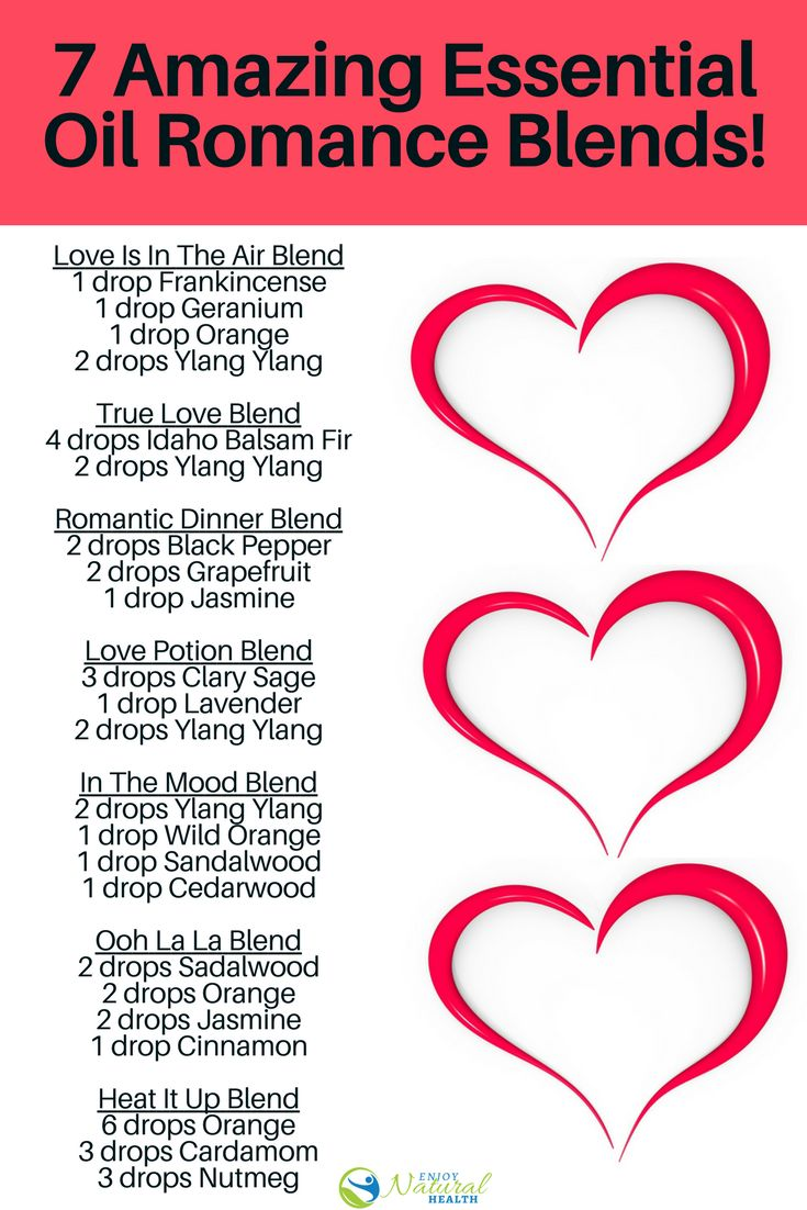 7 Amazing Essential Oils For Romance Blends