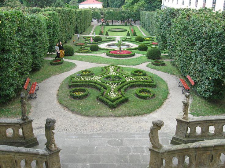 Podzámecká zahrada.Kroměříž