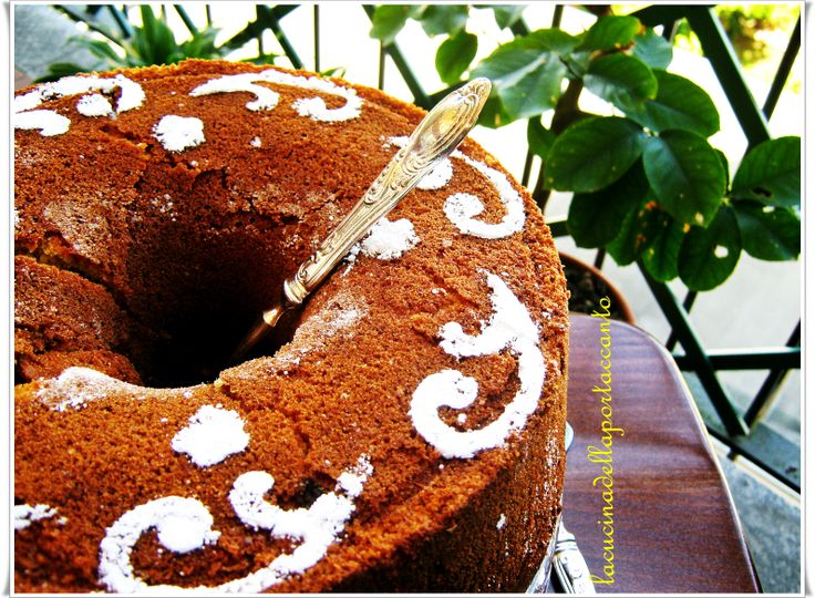 Fluffy Chiffon Cake all'arancia