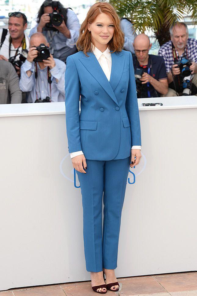 Женский смокинг >> как и с чем его носить | Glamour.ru