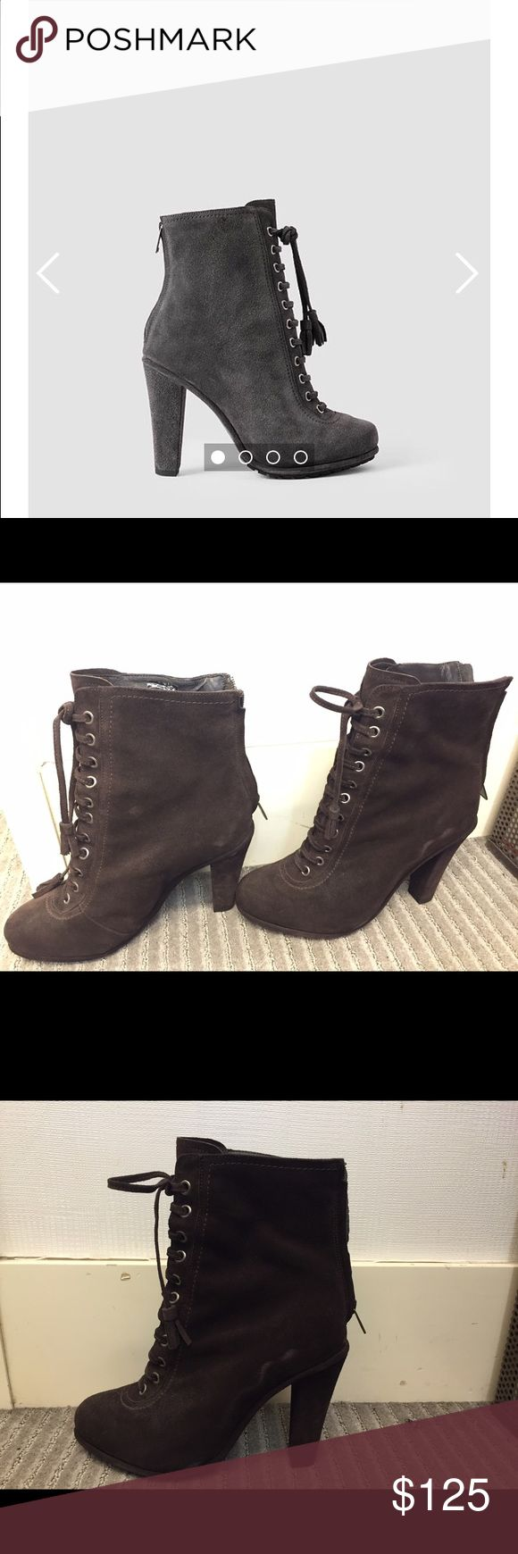 Allsaints boots Brown suede boots from Allsaints All Saints Shoes Ankle Boots & Booties