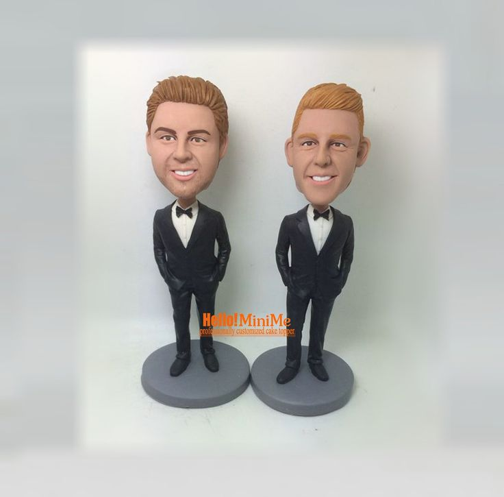 Groomsman bobblehead wedding bobble head Best Man bobble head Groomsmen bobbleheads Groom bobble head -  BHG05301A by Hellominime on Etsy