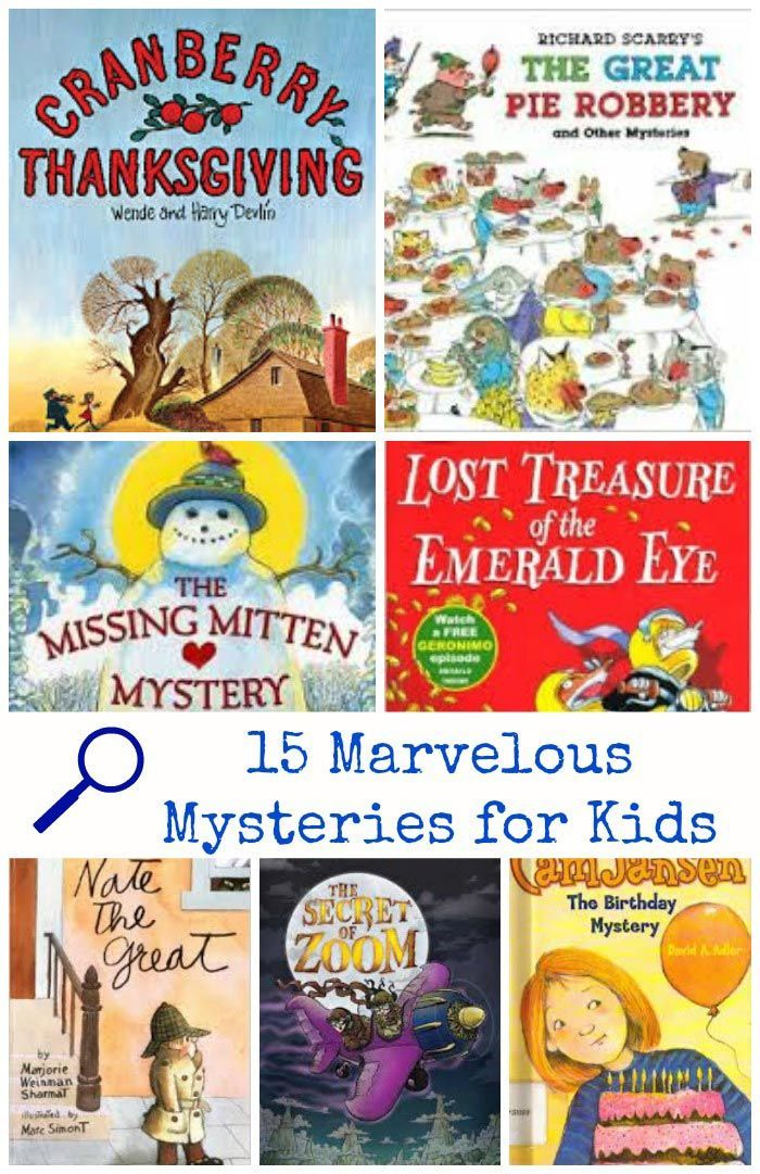 Be a detective 15 marvelous mystery books for kids for Children s craft books