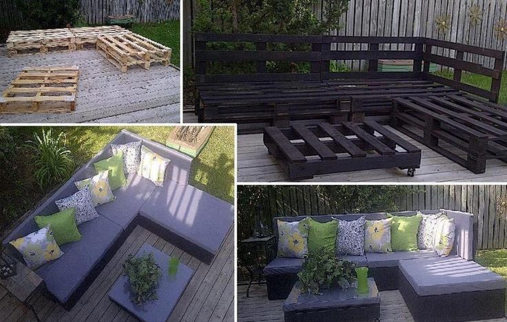 garten lounge ecke my style pinterest garten lounges and patio. Black Bedroom Furniture Sets. Home Design Ideas