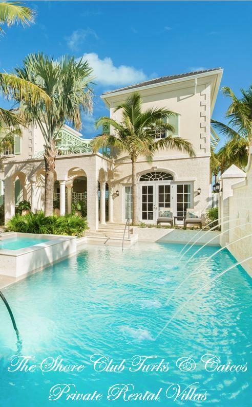 Luxury Rental Villas at The Shore Club, Turks & Caicos.