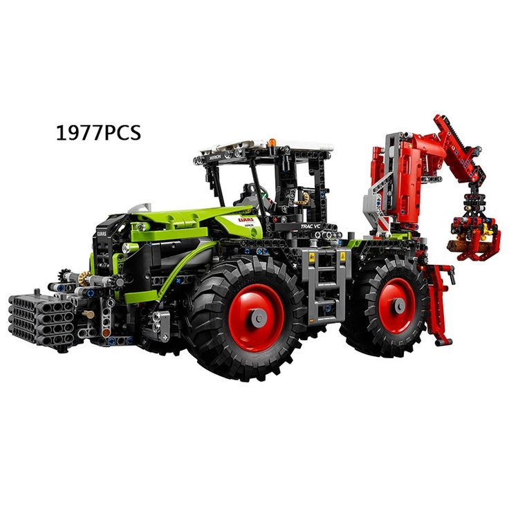 147.15$  Watch now - http://ali2h3.worldwells.pw/go.php?t=32787349242 - Hot Technics Remote control Engineering vehicle Class xerion 5000 track vc RC building block compatible Lepins 42054 toys