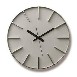 Lemnos(レムノス)/壁掛け時計(クォーツ)「エッジクロック | edge clock」