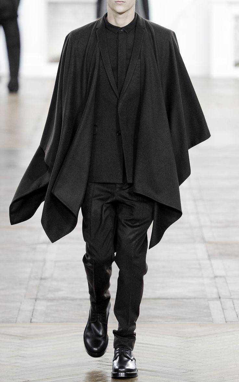 menswear fw trend: cloaks