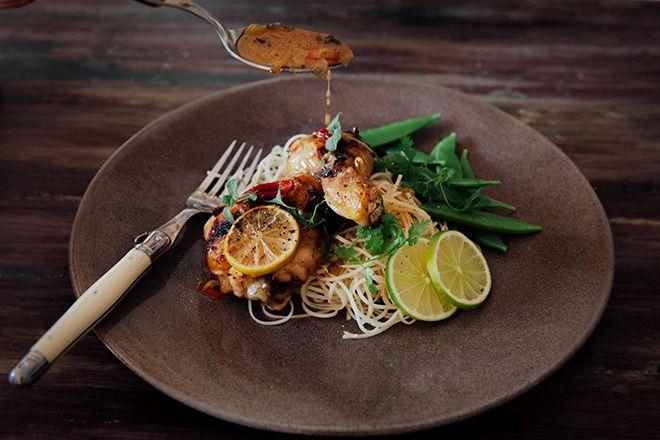 Easy weeknight winner: coconut and lemongrass chicken bake
