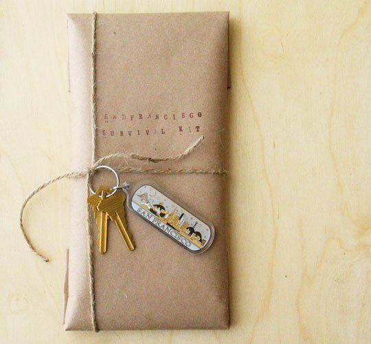 How To Make a Houseguest Welcome/Survival Kit from Apartment Therapy for the Penuche Suite